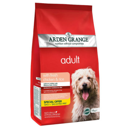 Karma Arden Grange 14kg Dog Adult Chicken Rice