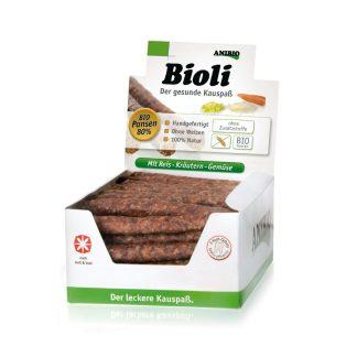 naturalne kiełbaski dla psa Anibio Bioli