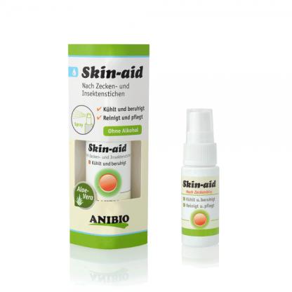 Anibio skin aid pomoc po ukąszeniach kleszczy i owadów