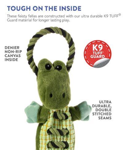 szarpak zabawka dla psa Petstages Ropes A Go-Go Krokodyl